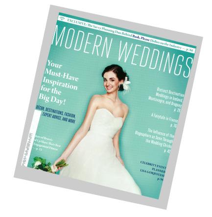 Modern Wedding Magazine
