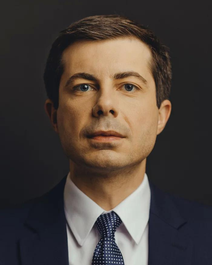 photo of Pete Buttigieg for TIME Magazine