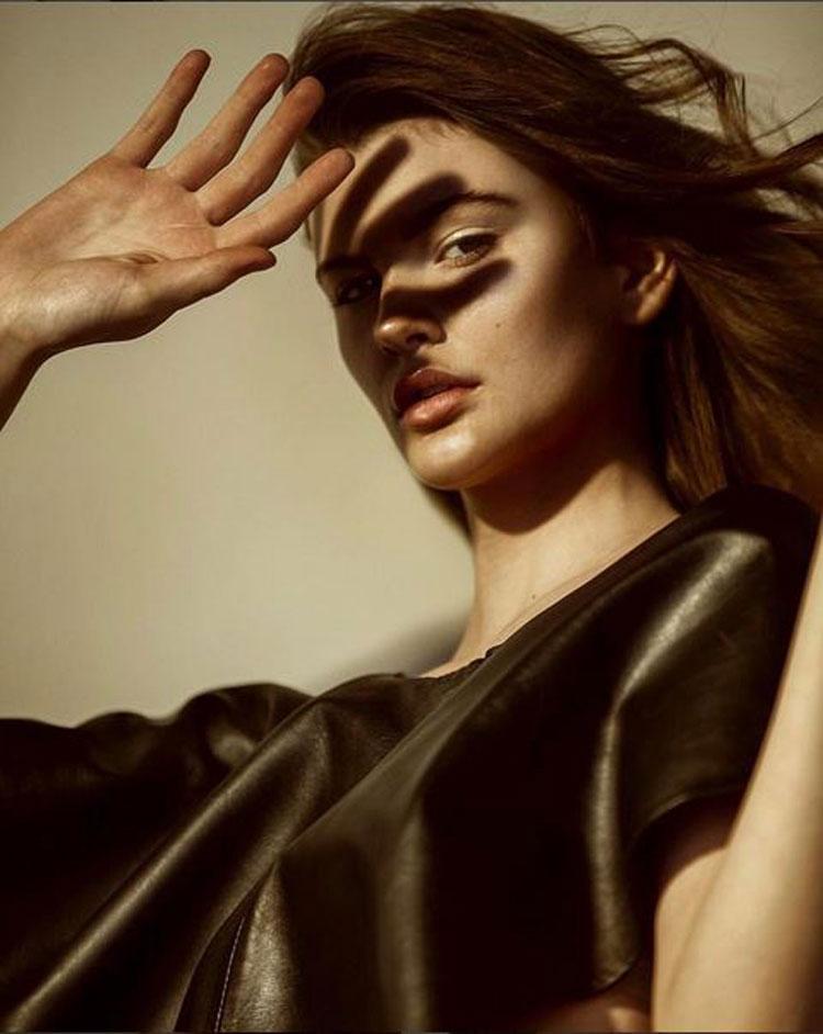 contour and highlighter makeup