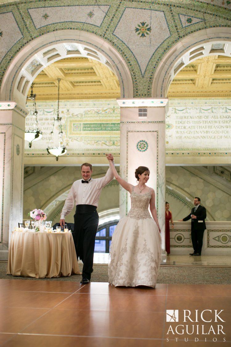 Chicago Cultural Center Wedding