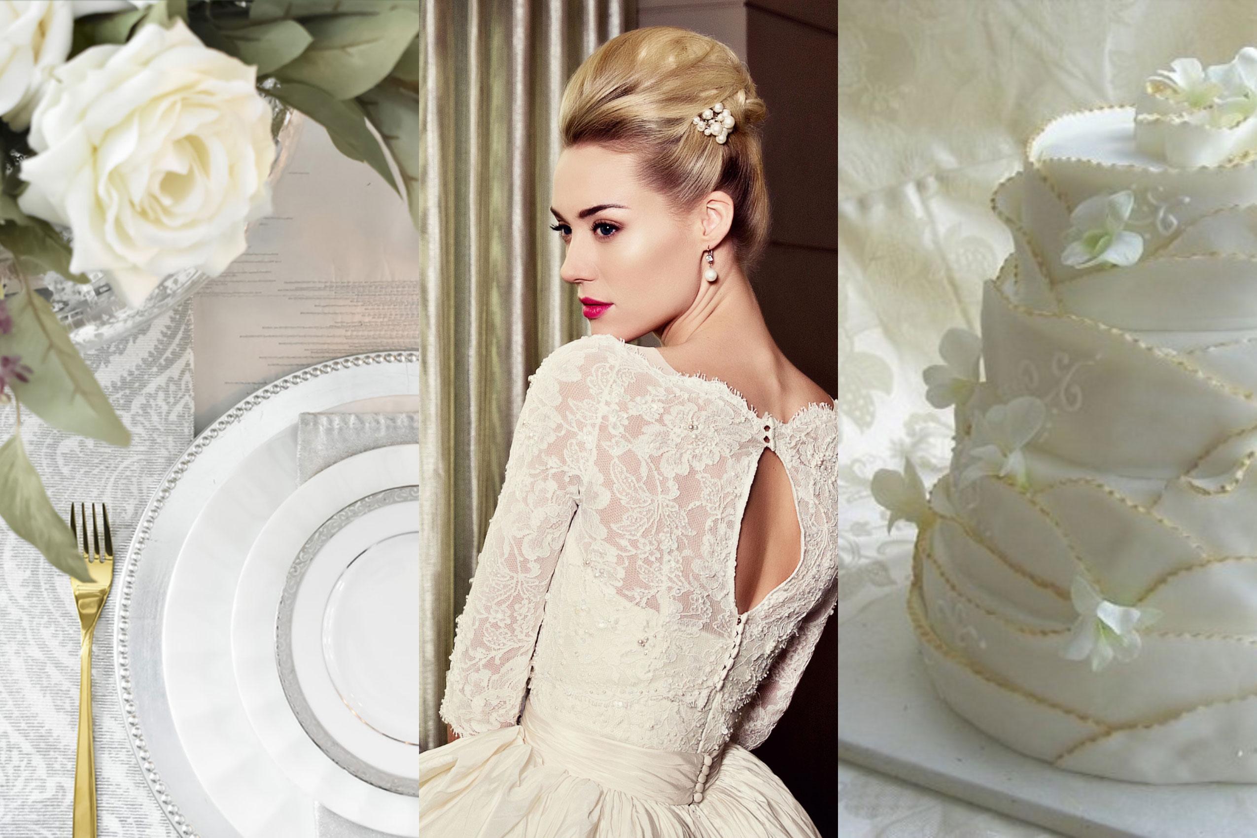 classic bridal makeup look